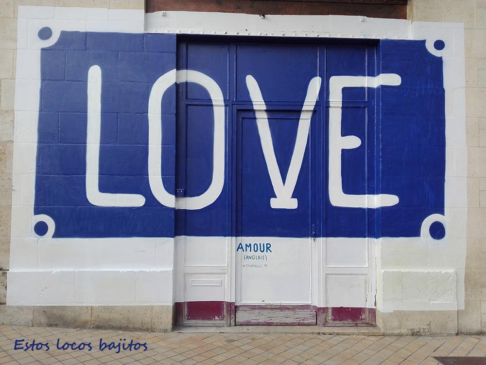El mundo está lleno de #amour #love #amor. Fotografía hecha en Burdeos