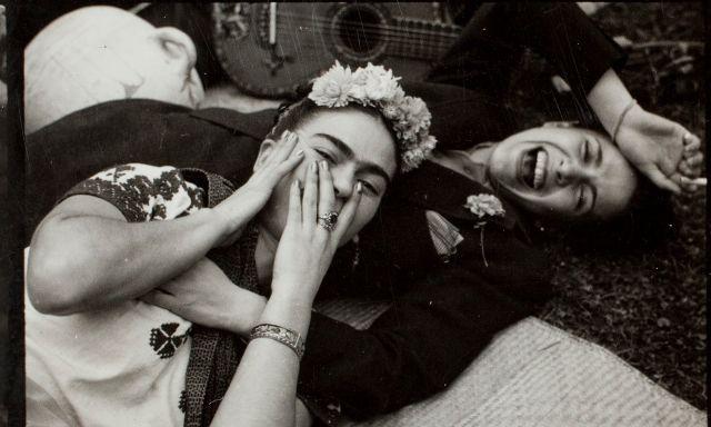 📷 Frida Kahlo y Chavela Vargas, en torno a 1950