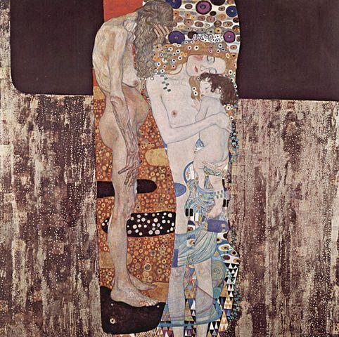 Las tres edades de la mujer, de Gustav Klimt